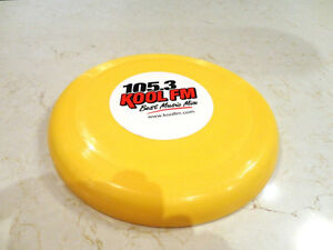 Vintage early 90's Kool FM Frisbee - Collectible Pop Culture