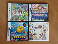 Yoshi's Island DS, Cooking Mama 2, Starfy, Final Fantasy