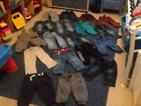 Large bundle 59 items of 9-12months baby boys clothes