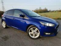 2015 Ford Focus 1.0 ZETEC £20 ROAD TAX! Hatchback Petrol Manual