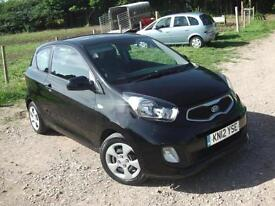 2012 KIA PICANTO 1* ZERO ROAD TAX * HATCHBACK PETROL