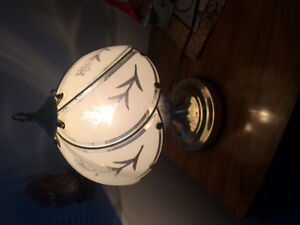 2 beautiful touchable lamps 2 for $30.00