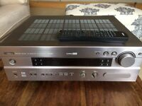 Yamaha AV Receiver and Mission M70 Speakers