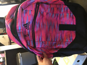 Adidas Brand New Multi Color Backpack for Girls