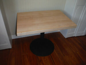 Authentic Fully Restored Hard Rock Maple Chef Table