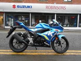 Suzuki GSX-R125 Moto GP Ex Demo on 3% finance