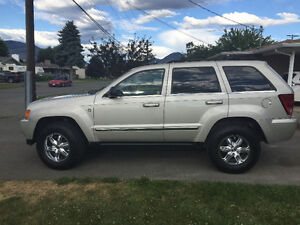 2007 Jeep Grand Cherokee Limited SUV 154000 kms