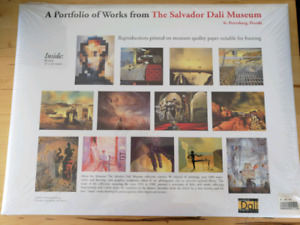 Salvador Dali 12 pack 12x16 inches
