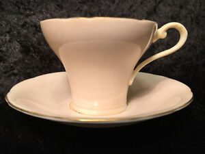 Aynsley Bone China - Teacup and Saucer - pattern H669