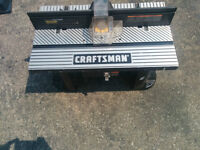 Craftsman Router Table