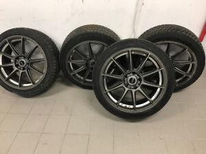 Bmw pneus hiver et mags(rim) 245/40/19 Blizzak(4)