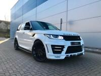 2013 63 Land Rover Range Rover Sport 3.0SD V6 HSE Dynamic+ BODYKIT + RED LEATHER