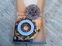 Pressure plate and disc from 1999 Geo Metro car.