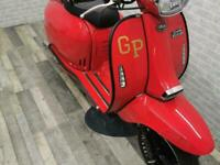 2020 (69) Royal Alloy GP125 AC metal bodied scooter