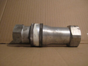 Hydraulic quick coupling.