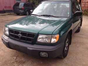 1999 suburu forester 176 kms no rust