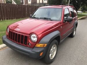 2006 Jeep Liberty...auto, equipped, only 150 kms