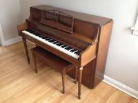 Sherlock Manning piano - excellent condition