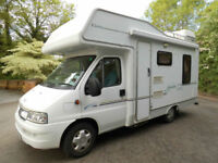 Elddis Sunseeker 400RL 4 berth, 2 Belts, L-Shaped Rear Lounge with Overcab