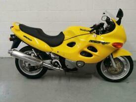 1999 Suzuki GSX600F GSX600F Petrol yellow Manual
