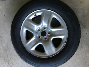 225-65-17,2,NEW ALL SEASON TIRES ON RIMS FOR TOYOTA,RAV4,$400