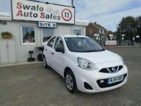 14 NISSAN MICRA 1.2 VISIA 79 BHP - 31,450 MILES - IDEAL FIRST CAR