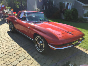 Corvette 1965 tres bonne condition