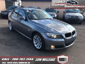 2011 BMW 3 Series 328xi PREMIUM PACKAGE ONLY 62000 KMS LIKE NEW!