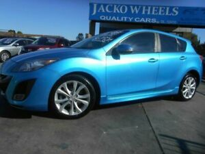 2010 Mazda 3 BL 10 Upgrade SP25 Blue 5 Speed Automatic Hatchback Bankstown Bankstown Area Preview