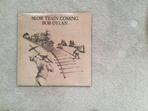 Bob Dylan Slow Train Coming 33 1/3 RPM vinyl LP
