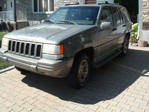 1998 Jeep Grand Cherokee cuir VUS