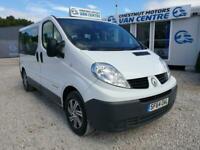 Renault Trafic Business Mini Bus Crew Van 9 Seats L2H1 LWB NHS Fleet 2014 No VAT
