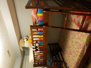 Bunk bed twin over full for $350!