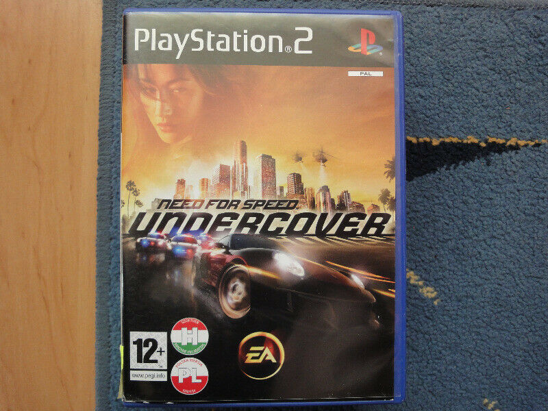Need for Speed: Undercover - gra po polsku na PS2