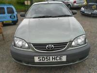 2001 TOYOTA AVENSIS 1.8 VVTi GS 5dr TRADE IN TO CLEAR GBP600 DRIVES WELL.
