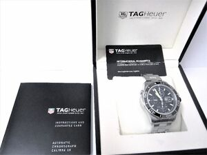 TAG Heuer Aquaracer Cal 16 Automatic Chronograph Watch - CAK2111 London Ontario image 2