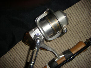 RAVEN 12.5 FOOT 2 PIECE ROD WITH SHIMANO REEL+ good tackle TAC