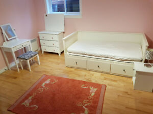 HEMNES Daybed with two mattresses