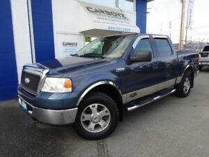 2006 Ford F-150 XLT XTR 4x4, Crew Cab, Sunroof, Only 123,748 Kms
