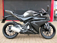 YAMAHA YZF R125 2014 LOW MILEAGE FDSH NEW MOT WARRANTY FINANCE CAT S