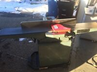 King 8 inch jointer w/ mobile base