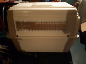 Extra large pet carrier - used twice to fly