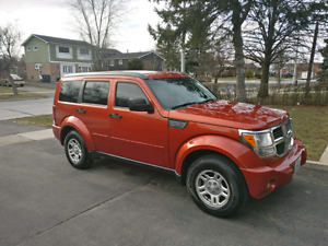 2009 Dodge Nitro Well Maintained! Low KM!