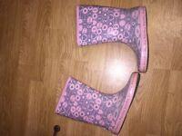 Wellington boots ladies wellys size 4