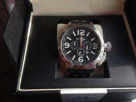 TW STEEL Oversized Chronograph Watch