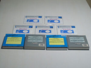 """9 x VINTAGE PC DOS GAMES, ON 5.25"""" + 3.5"""" FLOPPIES $2 - $4 EACH"""
