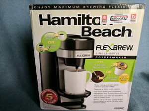 (new) Flexbrew coffee maker