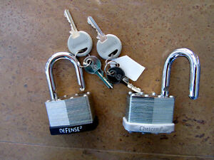 Heavy Padlocks (2)