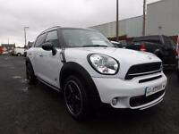 2016 66 plate Mini COUNTRYMAN COOPER SD ALL4 5dr CHILLI PACK SAT/NAV