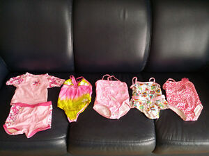 2T / 24 months Girls Bathing Suit Lot - Like New